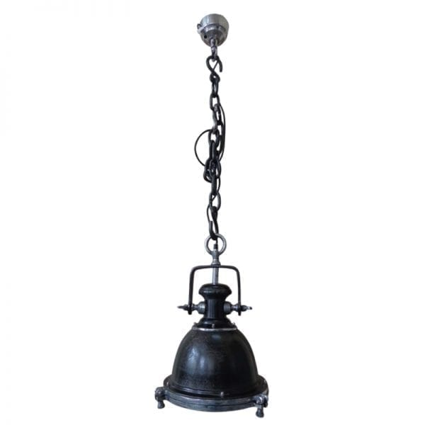 hanglamp california zwart antiek 70793c