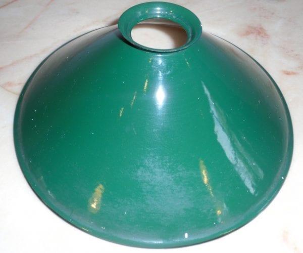 ijzeren groen lampenkap