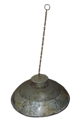 ijzeren waterkruik lamp half