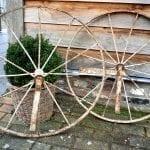 giet ijzeren wielen diameter 82 cm