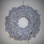 krans bonsai 45 cm wit 1