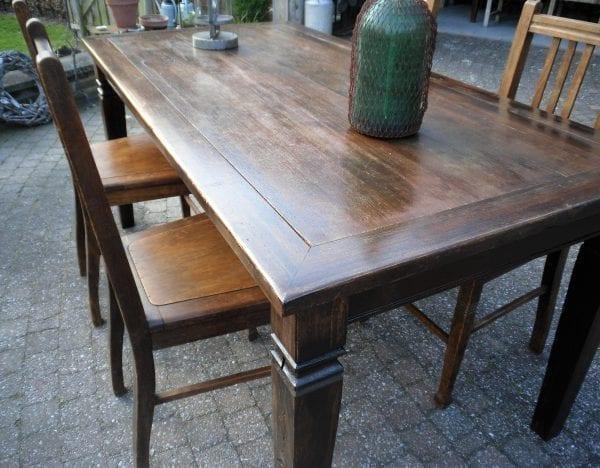 koloniale tafel 1.65 x 0.92