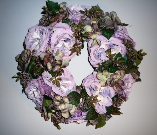 krans hortensia -rozen