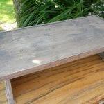 houten tafeltje 1