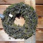 krans bonsai en mos 50cm