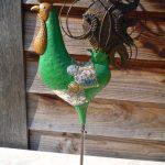 groene ijzeren sierhaan