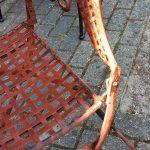 Retro Franse bistro stoel 2