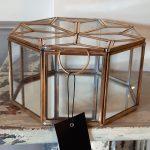glazen juwelen kistje