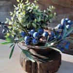 houten ornament kandelaar 1