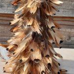 kerstboom met echte veren 3