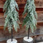zilveren kerstboom
