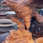 grote gietijzeren adelaar 1