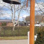 ijzeren paal voor landelijke lamp 2